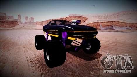 GTA 5 Imponte Ruiner Monster Truck para GTA San Andreas vista direita