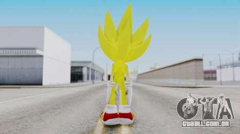 Super Sonic The Hedgehog 2006 para GTA San Andreas terceira tela