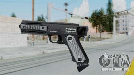 GTA 5 AP Pistol - Misterix 4 Weapons para GTA San Andreas segunda tela