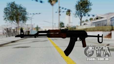 New HD AK-47 para GTA San Andreas