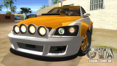 GTA V Karin Sultan RS 4 Door para GTA San Andreas