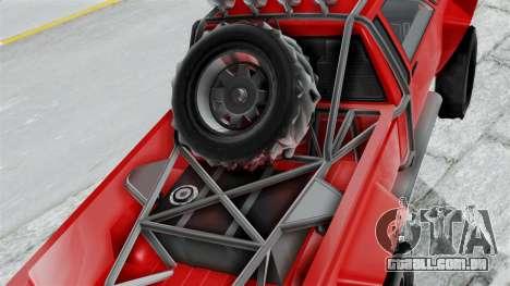 GTA 5 Karin Rebel 4x4 para GTA San Andreas vista traseira