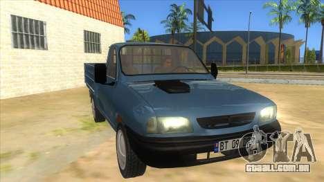 Dacia 1305 Drop-Side para GTA San Andreas vista traseira