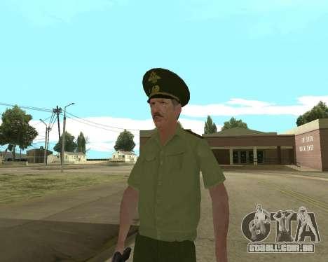 Sênior mandado de oficial de danyluk para GTA San Andreas quinto tela