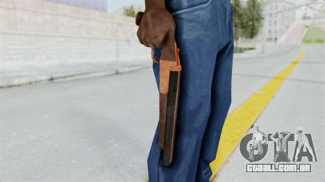 Double Barrel Shotgun Orange Tint (Lowriders CC) para GTA San Andreas