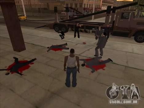 Os russos, no distrito Comercial v2 para GTA San Andreas segunda tela