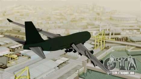 GTA 5 Jumbo Jet v1.0 para GTA San Andreas esquerda vista