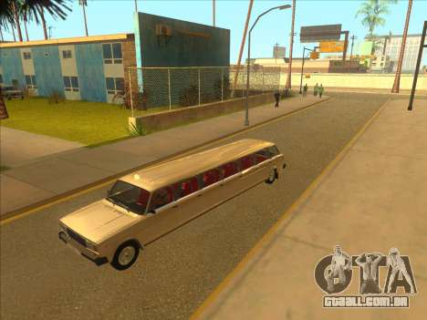 VAZ 2104 13-door para GTA San Andreas vista interior
