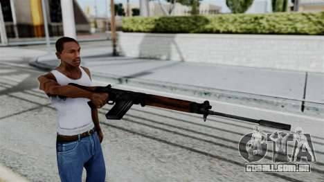 No More Room in Hell - FN FAL para GTA San Andreas
