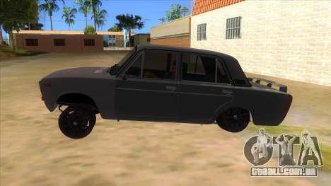 VAZ 2106 Drift Edition para GTA San Andreas esquerda vista