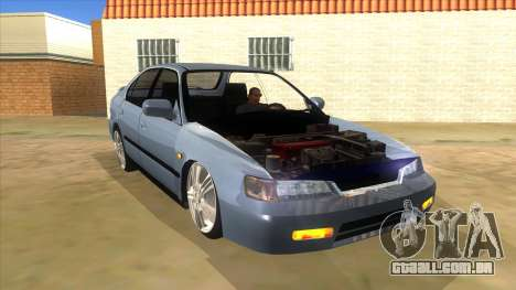Honda Accord Sedan 1997 para GTA San Andreas vista traseira