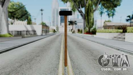 No More Room in Hell - Sledgehammer para GTA San Andreas segunda tela