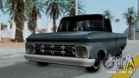 Ford F-100 1963 para GTA San Andreas