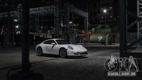 GTA 5 Porsche 911 vista lateral esquerda
