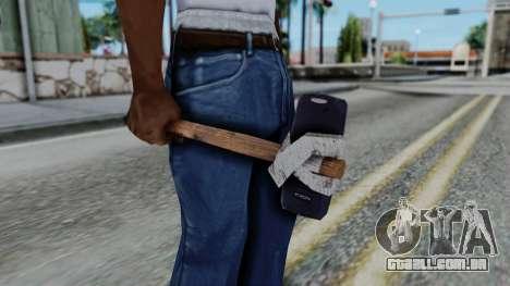 Nokia 3310 Hammer para GTA San Andreas terceira tela