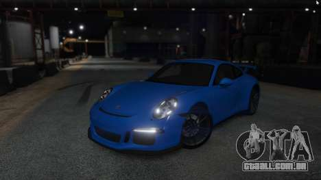 GTA 5 Porsche 911 voltar vista