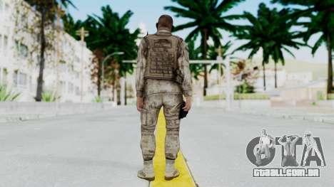 Crysis 2 US Soldier 2 Bodygroup A para GTA San Andreas terceira tela