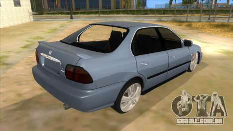 Honda Accord Sedan 1997 para GTA San Andreas vista direita