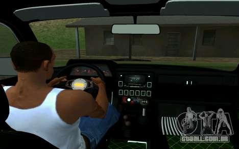 VAZ 2121 Niva Forester para GTA San Andreas traseira esquerda vista