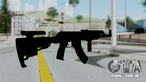 AK-47 Tactical para GTA San Andreas terceira tela