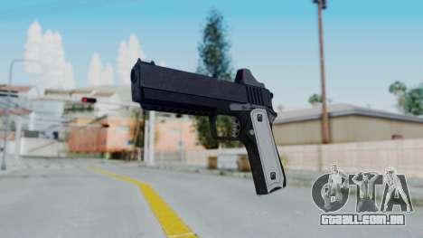GTA 5 Heavy Pistol - Misterix 4 Weapons para GTA San Andreas segunda tela