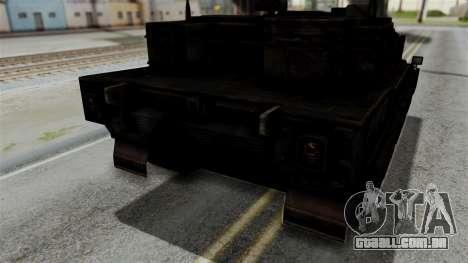 Point Blank Black Panther Rusty IVF para GTA San Andreas vista interior