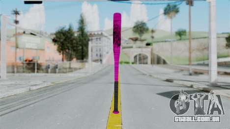 GTA 5 Baseball Bat 4 para GTA San Andreas