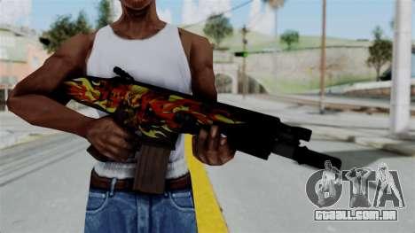 SCAR-L Extra PJ para GTA San Andreas terceira tela