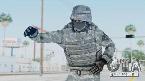 Acu Soldier Balaclava v1 para GTA San Andreas
