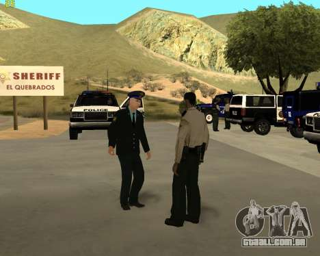 A Pele É Sergei Glukharev para GTA San Andreas por diante tela