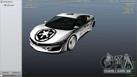 GTA 5 Star Wars Battlefront Jester Race Theme vista lateral direita