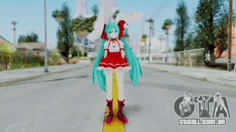 Hatsune Miku (Rabbit Girl) para GTA San Andreas segunda tela