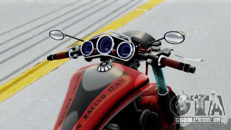 Turbike 3.0 para GTA San Andreas vista traseira