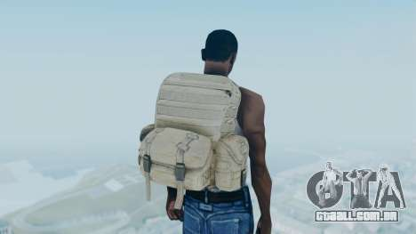 Arma 2 Backpack para GTA San Andreas terceira tela