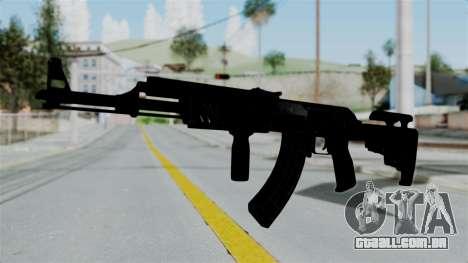 AK-47 Tactical para GTA San Andreas segunda tela