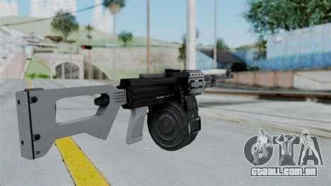 GTA 5 MG - Misterix 4 Weapons para GTA San Andreas segunda tela