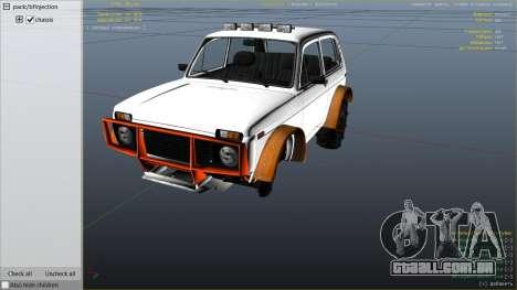 GTA 5 SUV VAZ-2121 vista lateral direita