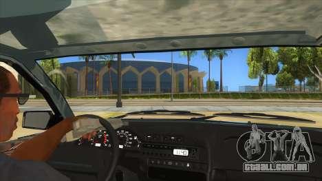 VAZ 2113 shifter para GTA San Andreas vista interior