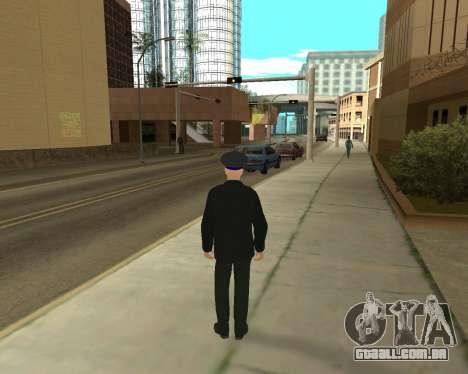 A Pele É Sergei Glukharev para GTA San Andreas segunda tela