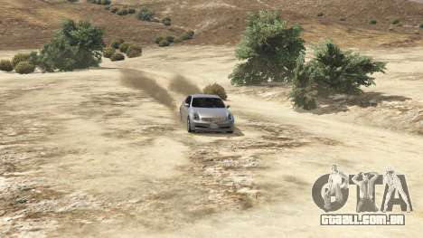 GTA 5 Infiniti G35 voltar vista