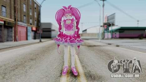 Sweet Precure Cure Melody para GTA San Andreas segunda tela