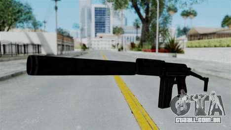 9A-91 Suppressor para GTA San Andreas