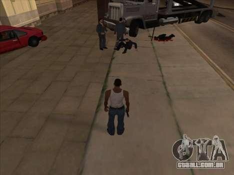 Os russos, no distrito Comercial v2 para GTA San Andreas terceira tela