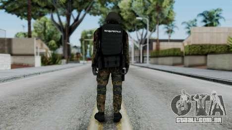 Serbian Zandarmerija para GTA San Andreas terceira tela
