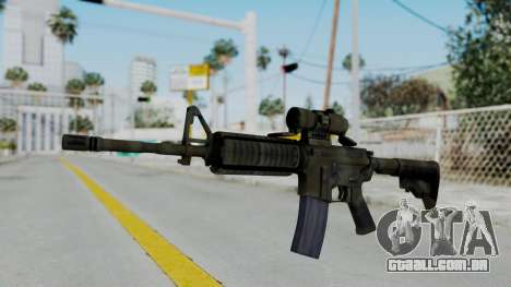 Arma2 M4A1 CCO Camo para GTA San Andreas