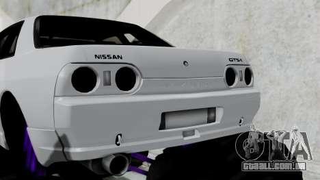 Nissan Skyline R32 Monster Truck para GTA San Andreas traseira esquerda vista
