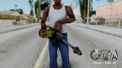 GTA 3 Flame Thrower para GTA San Andreas terceira tela