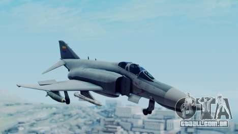 F-4E Phantom II Royal Noord-Hollandian Air Force para GTA San Andreas traseira esquerda vista