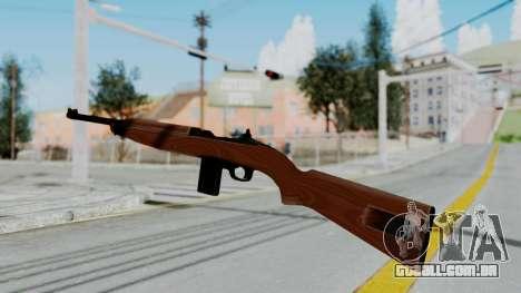 M1 Carbine para GTA San Andreas segunda tela