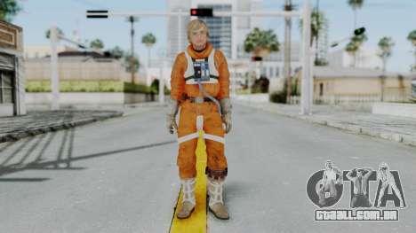 SWTFU - Luke Skywalker Pilot Outfit para GTA San Andreas segunda tela